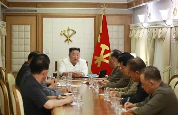 Kim Jong Un inpects Typhoon-hit area in Hamgyong provinces