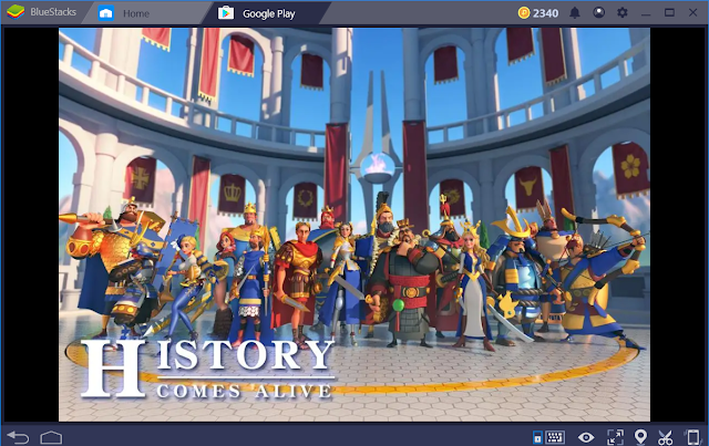Playing RISE OF CIVILIZATIONS On My PC With Bluestacks 4
