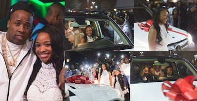 Rapper Yo Gotti Gifts His Daughter A Brand New Benz SUV For Her 16th Birthday