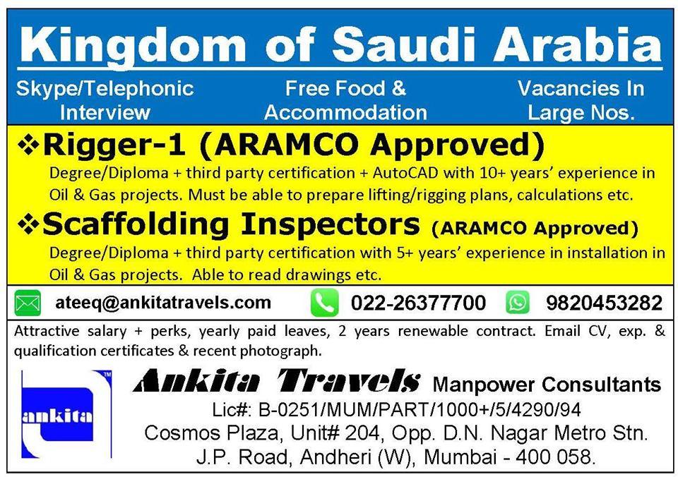 telephonic Interview for Saudi Arabia