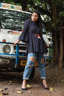 2019 Fashion trend summer casual top by label Ashish kumar