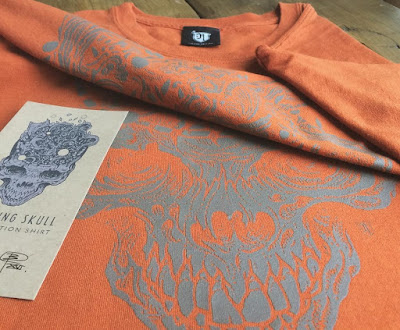 MondoCon 2016 Exclusive Exploding Skull 1 of a Kind T-Shirts by Richey Beckett