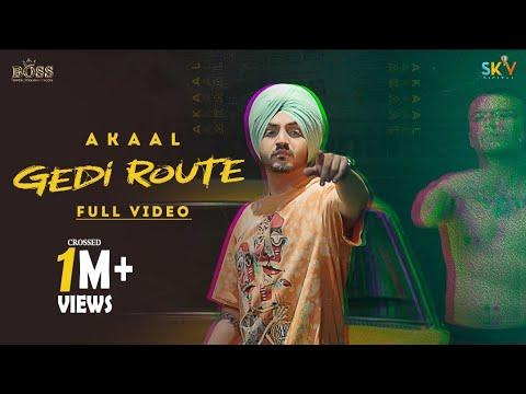गेड़ी रूट Gedi route lyrics in Hindi Akaal Punjabi Song