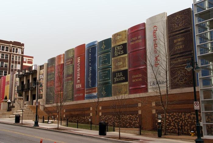المكتبة العامة بكنساس