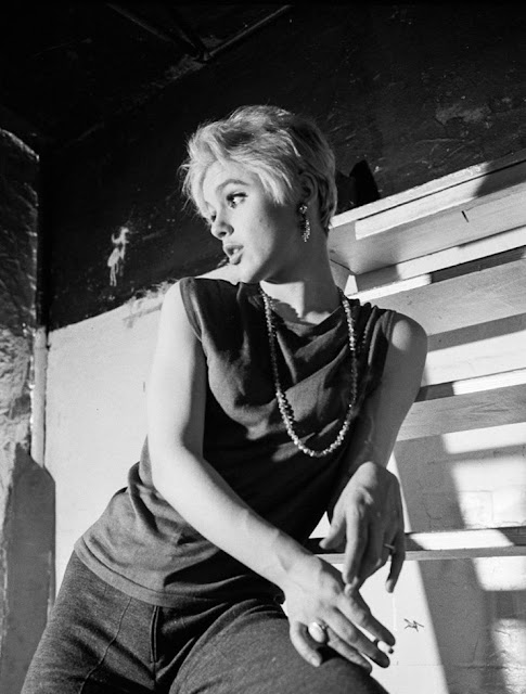 1965. Edie Sedgwick photographed by Bob Adelman at the Factory