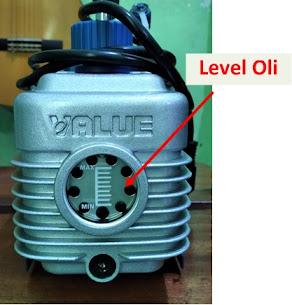 Vacuum Pump Oil Level