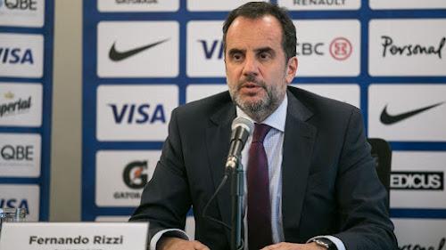 Fernando Rizzi, secretario de la Unión Argentina de Rugby