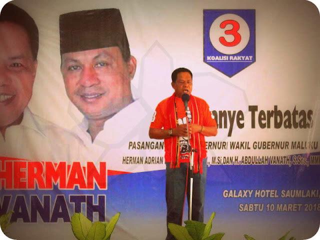 Herman Koedoeboen dan Abdullah Vanath Janjikan Perubahan Untuk Maluku