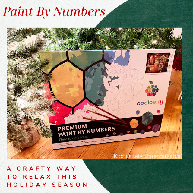 Paint by Numbers A crafty way to relax this holiday season