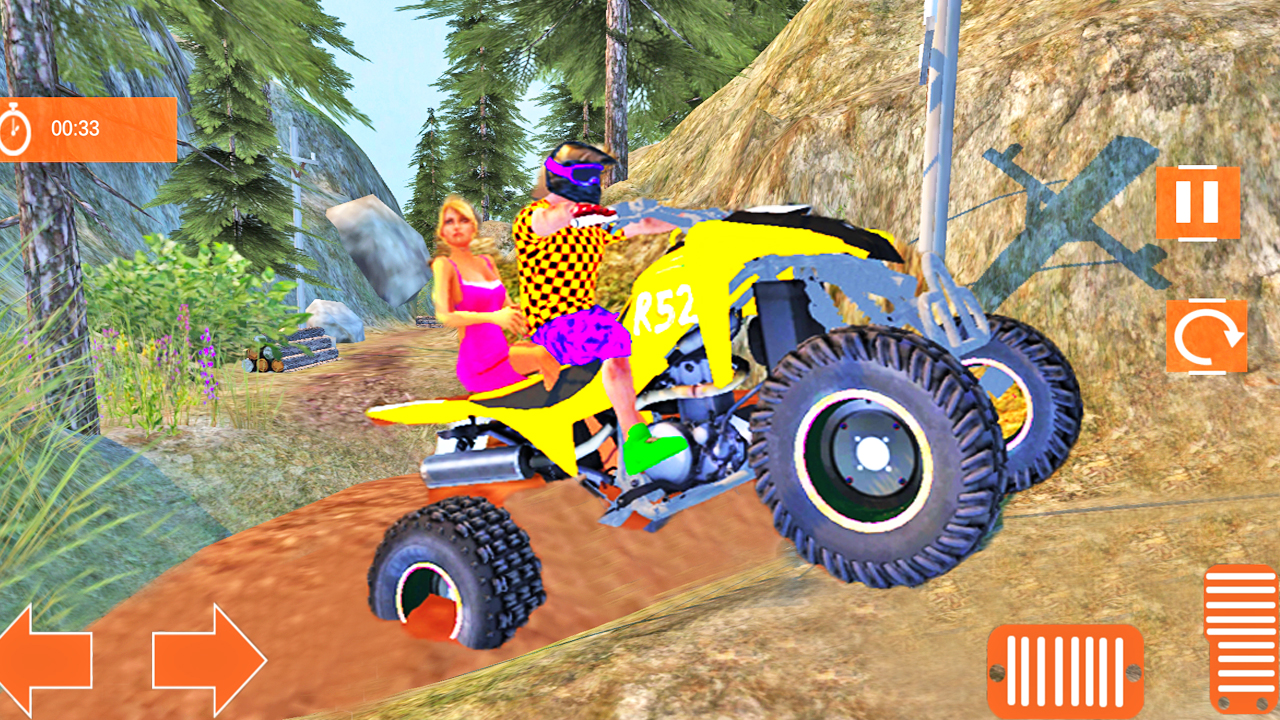 atv quad bike riding simulator  offroad games  apk free
