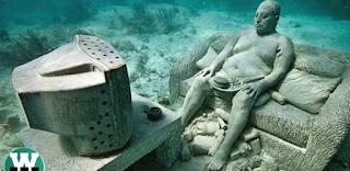 Τα 9 πιο περίεργα πράγματα που βρέθηκαν κάτω από Το νερό και δεν έχουν εξήγηση