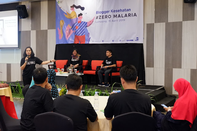 Zero Malaria Blogger Kesehatan Lampung