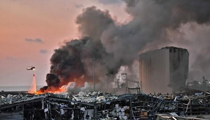 Βηρυτός: Έκρηξη ισοπέδωσε το λιμάνι της πόλης - Έγινε αισθητή στην Κύπρο