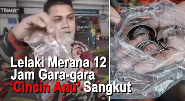 [VIDEO] Aduh...Sakitnya Tu Dibawah...Lelaki Merana 12 Jam Gara-gara 'Cincin Anu' Sangkut