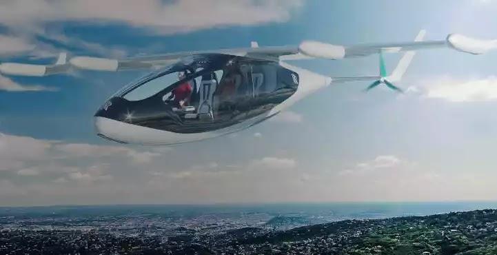 Η Rolls-Royce παρουσίασε το υβριδικό «ιπτάμενο ταξί» της