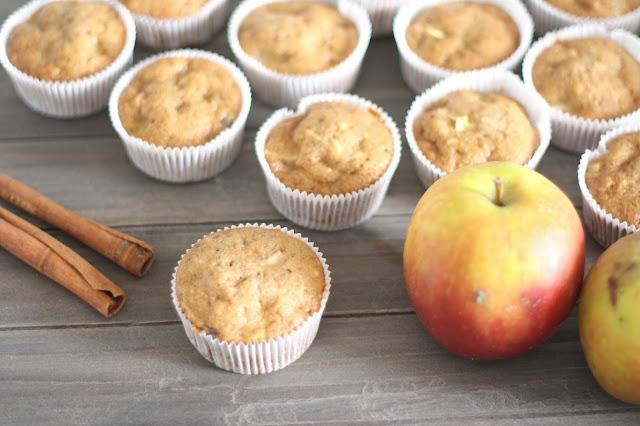 Fleur et Fatale Blog Rezept Apfel Zimt Muffins