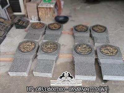 Nisan Patok Granit, Batu Nisan Marmer Granit, Produk Batu Nisan Tulungagung