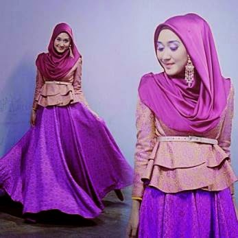 Jenis Model Baju Muslimah Terbaru 2015