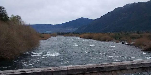 Vista de río