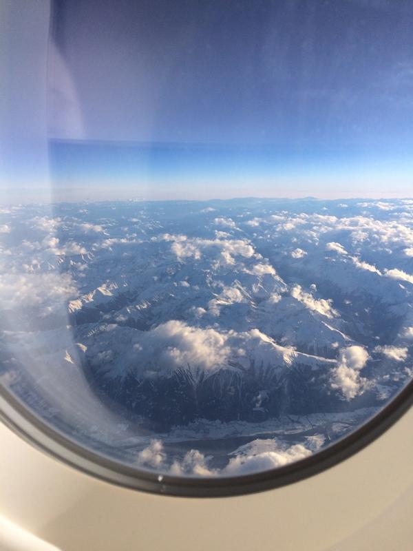 PHILIPPINES : Montagnes vues de l'avion / Logistique du voyage / www.by-laura.fr