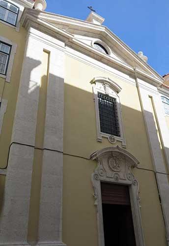 Igreja de Nossa Senhora da Vitória Lisbon, Portugal.