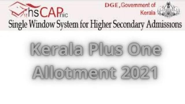 Kerala-Plus-One-Allotment
