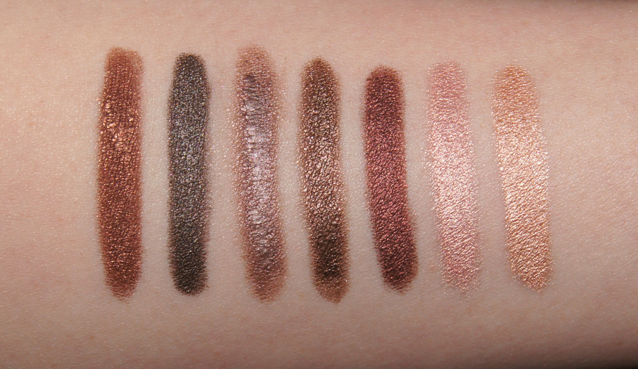 cream eyeshadow sticks swatches nars goddess laura mercier khaki charlotte tilbury bronzed garnet clinique lots o latte marc jacobs three shakes bourjois brun dadaiste rimmel bulletproof beige