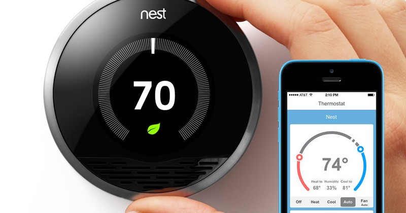 Comparatif quel thermostat connect choisir elyotherm - Nest thermostat stylish home temperature control ...