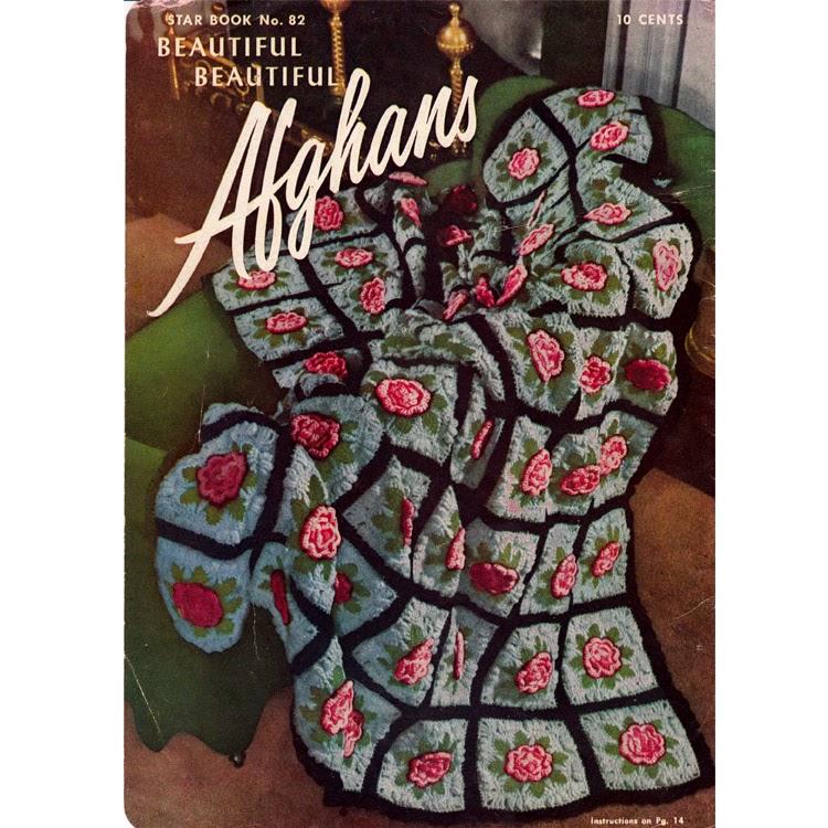 Crochet Charleston Garden Afghan Pattern