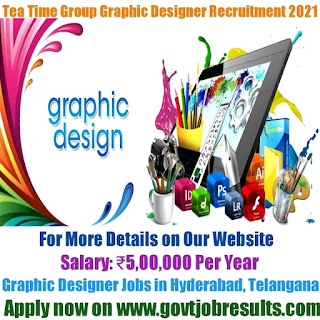 Tea Time Group Graphic Designer Recruitment 2021-22
