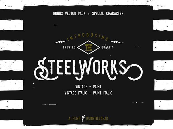 Steelworks Font Free Download