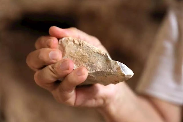 350,000 years old stone axes found in in southern Turkey