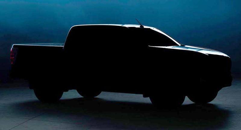 Những hình ảnh đầu tiên của Mazda BT-50 2020