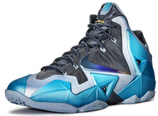 size 40 9010e 1e1be This Nike LeBron 11 comes in an armory slate, gamma blue and light armory  blue colorway. Nicknamed the