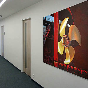 Wandmalerei, Illusionsmalerei und Gemälde in der Auftragskunst bzw. Auftragsmalerei