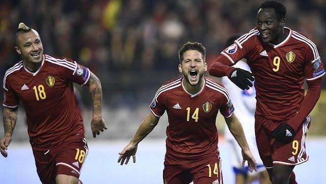 La Belgique va occuper la 1e place du classement FIFA
