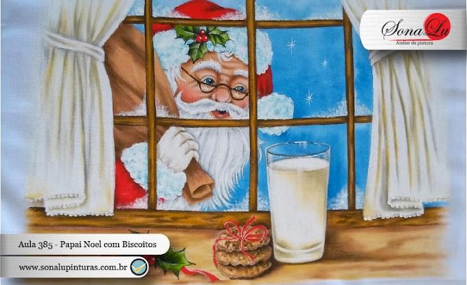 Aula 385 - Papai Noel com Biscoitos