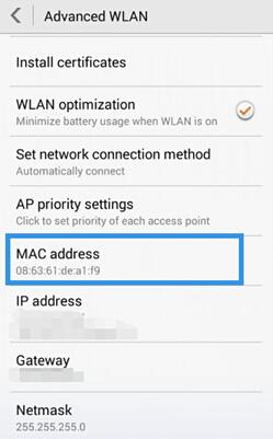Us ip address mac