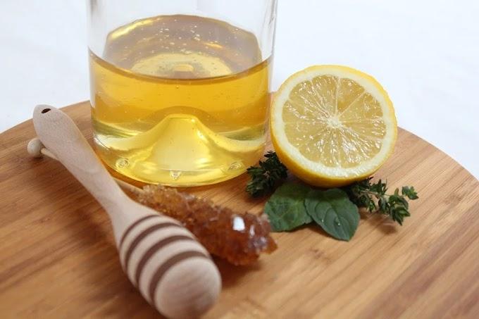 Miel y limón, la bebida natural que suaviza tu garganta