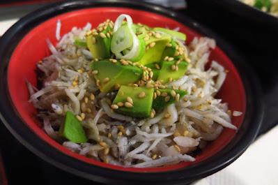 Healthy Soba IKI, avocado shirasu don