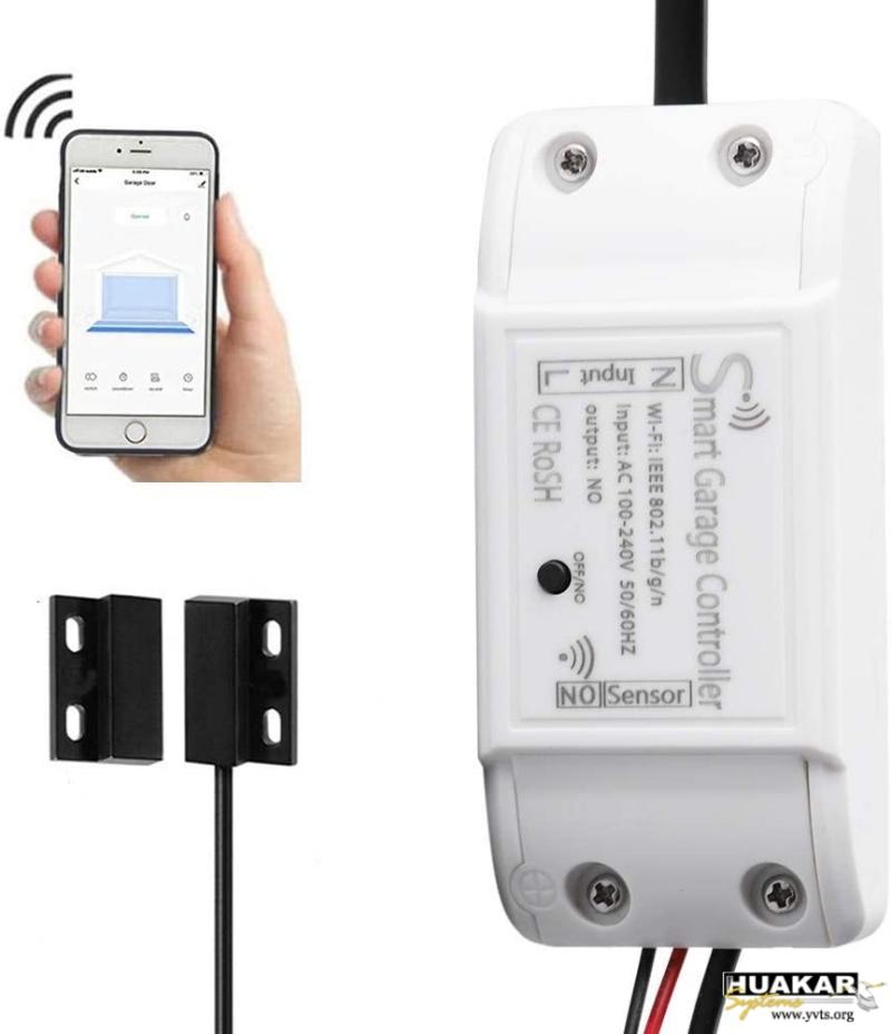 HS-SGC-1001 - Abridor puerta garage Wi-Fi