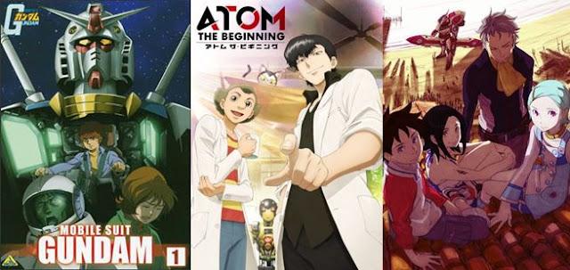 Rekomendasi Anime Mecha Terbaik paling bagus