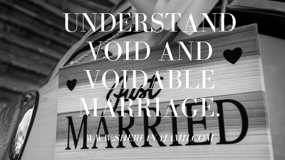 In common law marriage is termed to be a voluntary agreement between a man and a woman to enter into a certain legal relationship with each other and which creates and imposes mutual obligations. Since marriage is an agreement, like any other agreements it can be affected by form and capacity thus end up being void or voidable depending on the customs of certain locality.