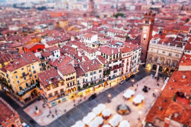 Mô hình thu nhỏ thành phố Verona