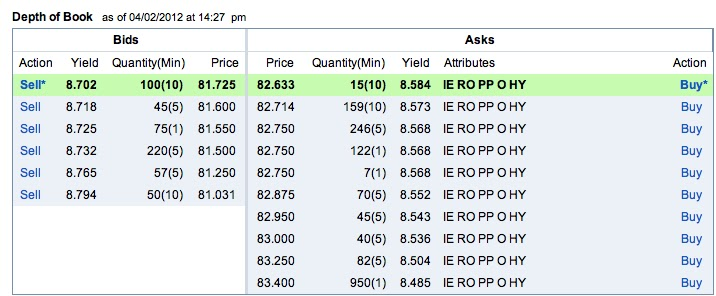 Stocks, Bonds  Politics More on IRS Form 8949, Fidelity and
