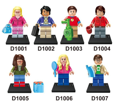 its-not-lego.blogspot.com, big bang theory minifigures
