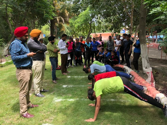 Selection of the Punjab team for the National Dragon Boat Championship