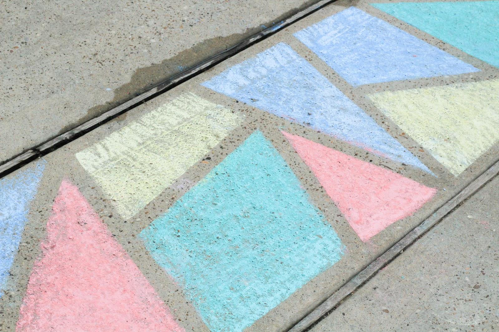 Sidewalk Chart Art