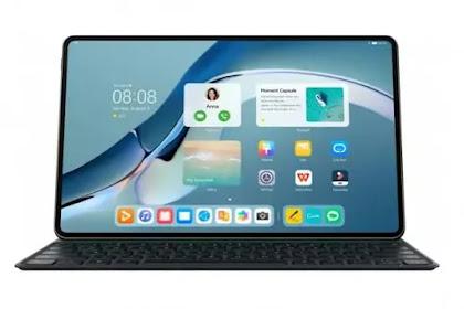 Cara screenshot dan screen video recorder menggunakan tablet Huawei matepad 11 Harmony OS