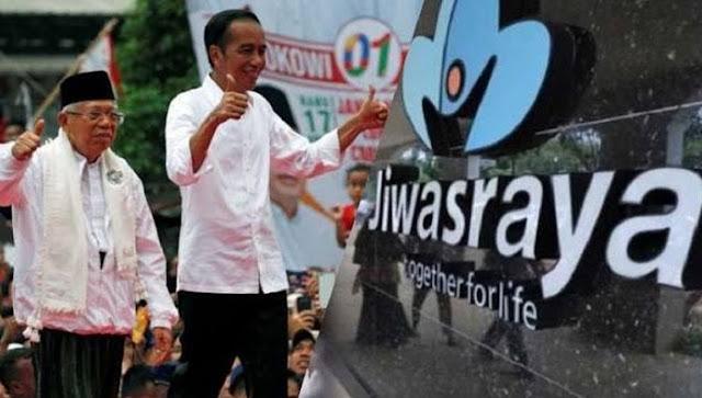 Buka-bukaan Duit Skandal Jiwasraya Mengalir kepada Kekuasaan Jokowi, Begini Awal Mulanya